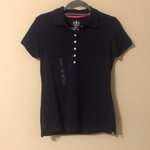 NWT IZOD Navy Polo Shirt